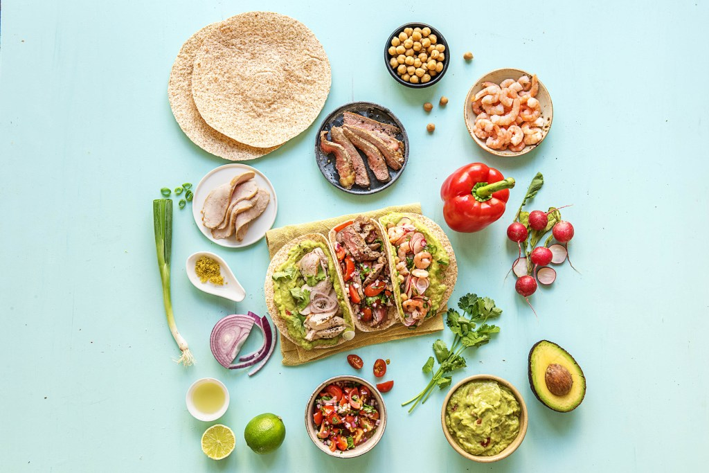 4 build your own food bar ideas for kids the fresh times taco food bar hellofresh forumfinder Choice Image