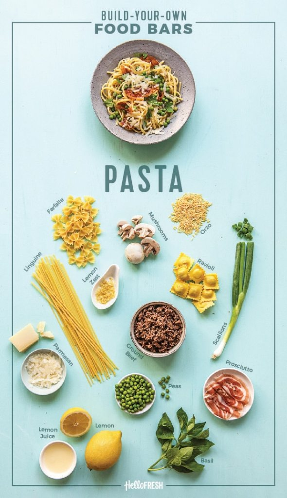 pasta-food bar-HelloFresh-infographic