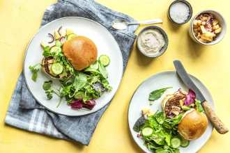 kid-friendly recipes-pineapple pork burger-HelloFresh