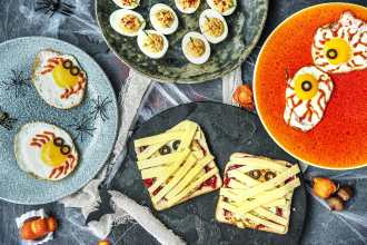easy egg recipes-Halloween-HelloFresh