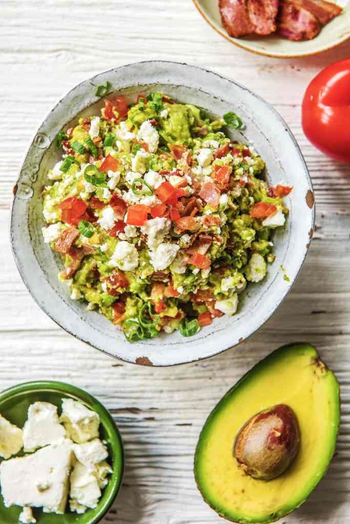 simple guacamole recipe-bacon-HelloFresh
