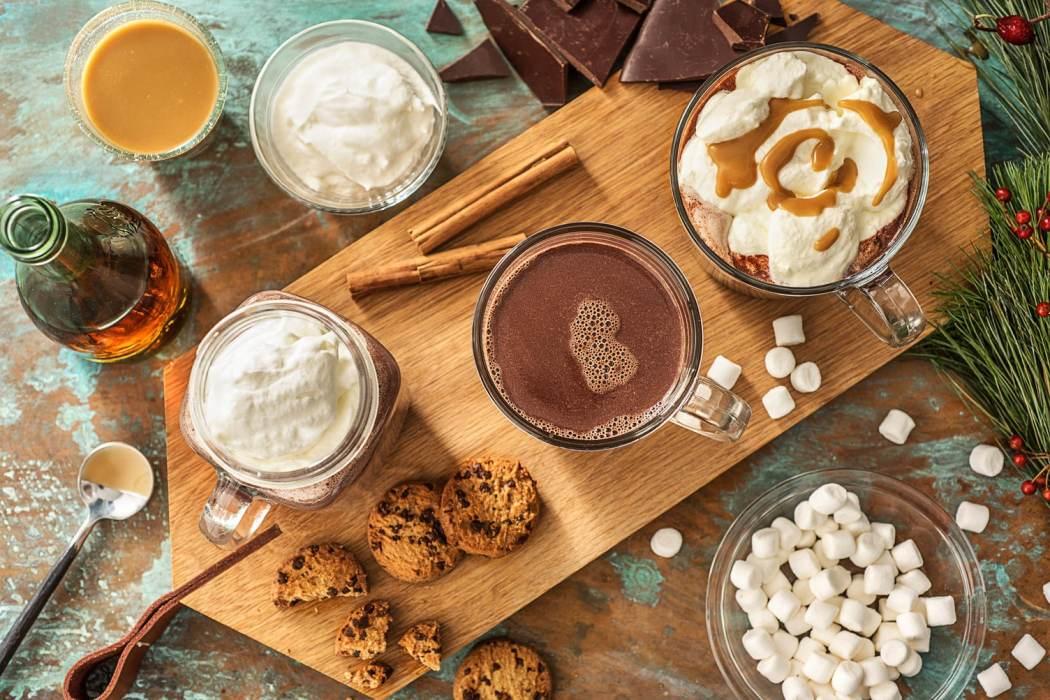 how to make hot chocolate-HelloFresh-three ways