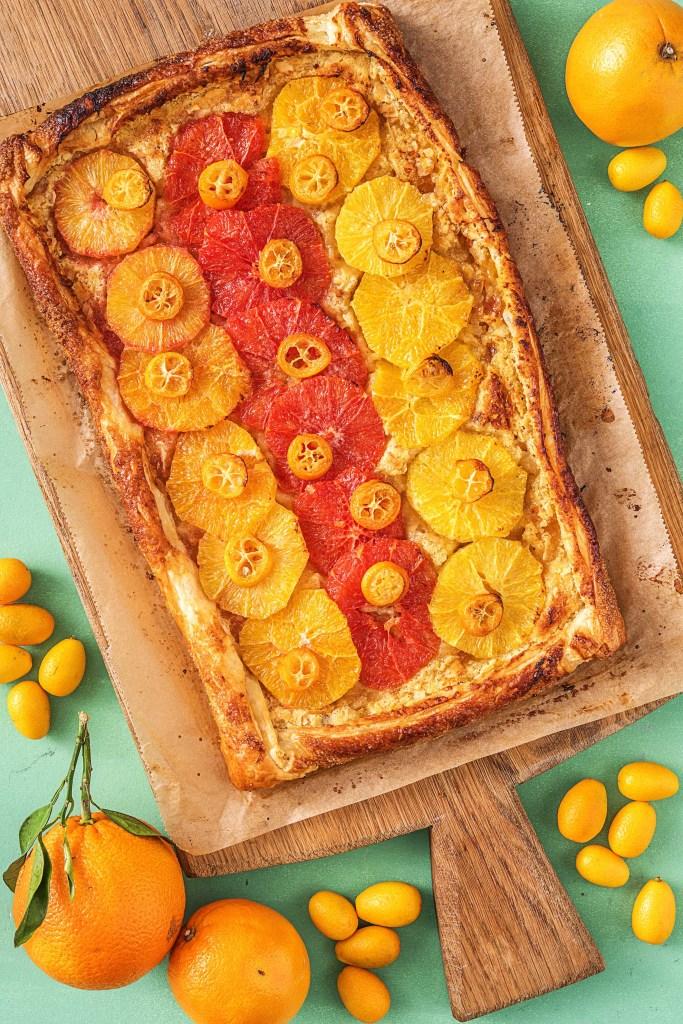 slab pie-orange-almond-sweet-recipe-HelloFresh
