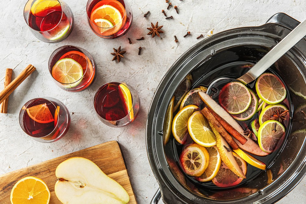 holiday drinks-slow-cooker-spiced-wine-HelloFresh