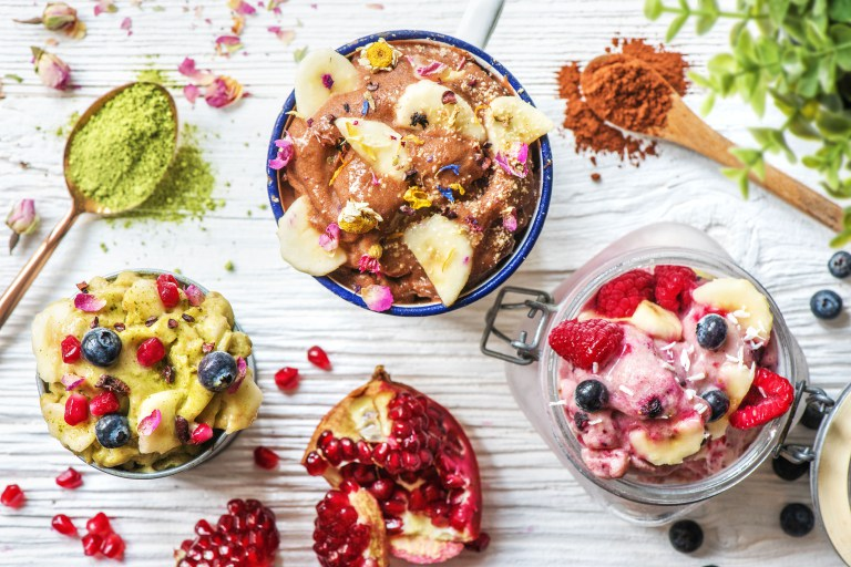 healthy dessert recipes-nice-cream-HelloFresh