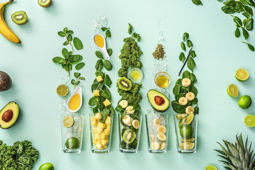 green smoothies-HelloFresh-ingredients