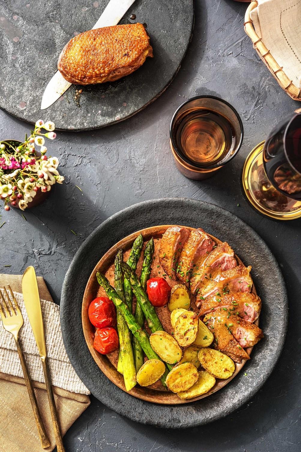 duck breast recipe-HelloFresh-premium meal