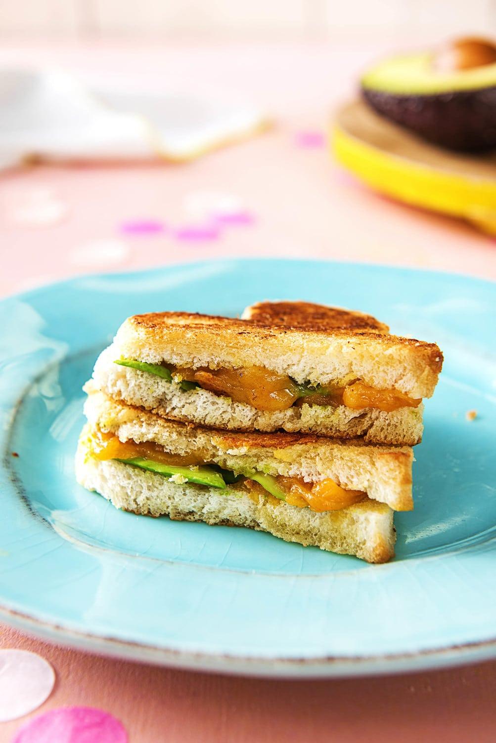 valentine's day breakfast ideas-HelloFresh-sandwich