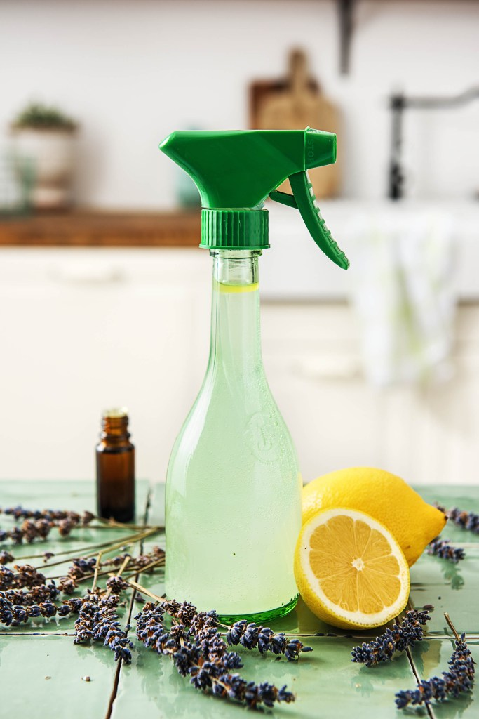 natural cleaning products-lavender-lemon-air-freshener-HelloFresh