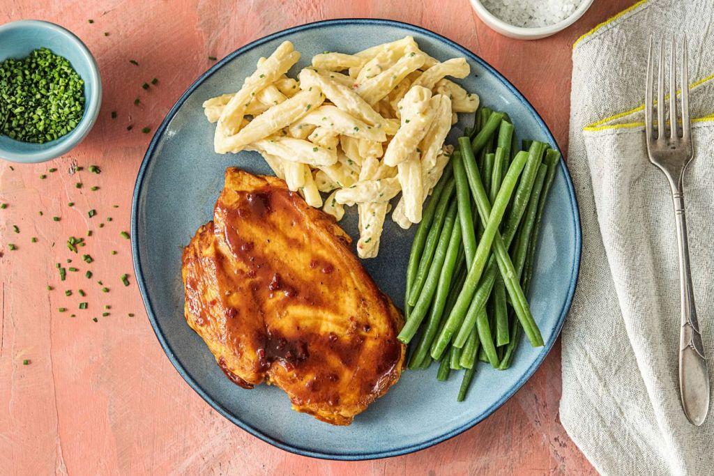 quick and easy recipes-20-minute-meals-HelloFresh-carolina-barbecue-chicken