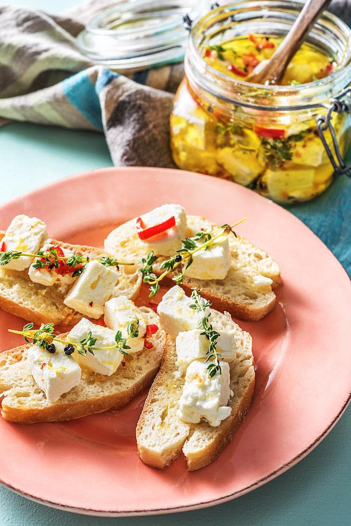 types of cheeses-HelloFresh-citrus-herb-marinated-feta