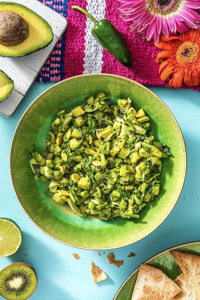 homemade salsa recipes-kiwi-avocado-HelloFresh