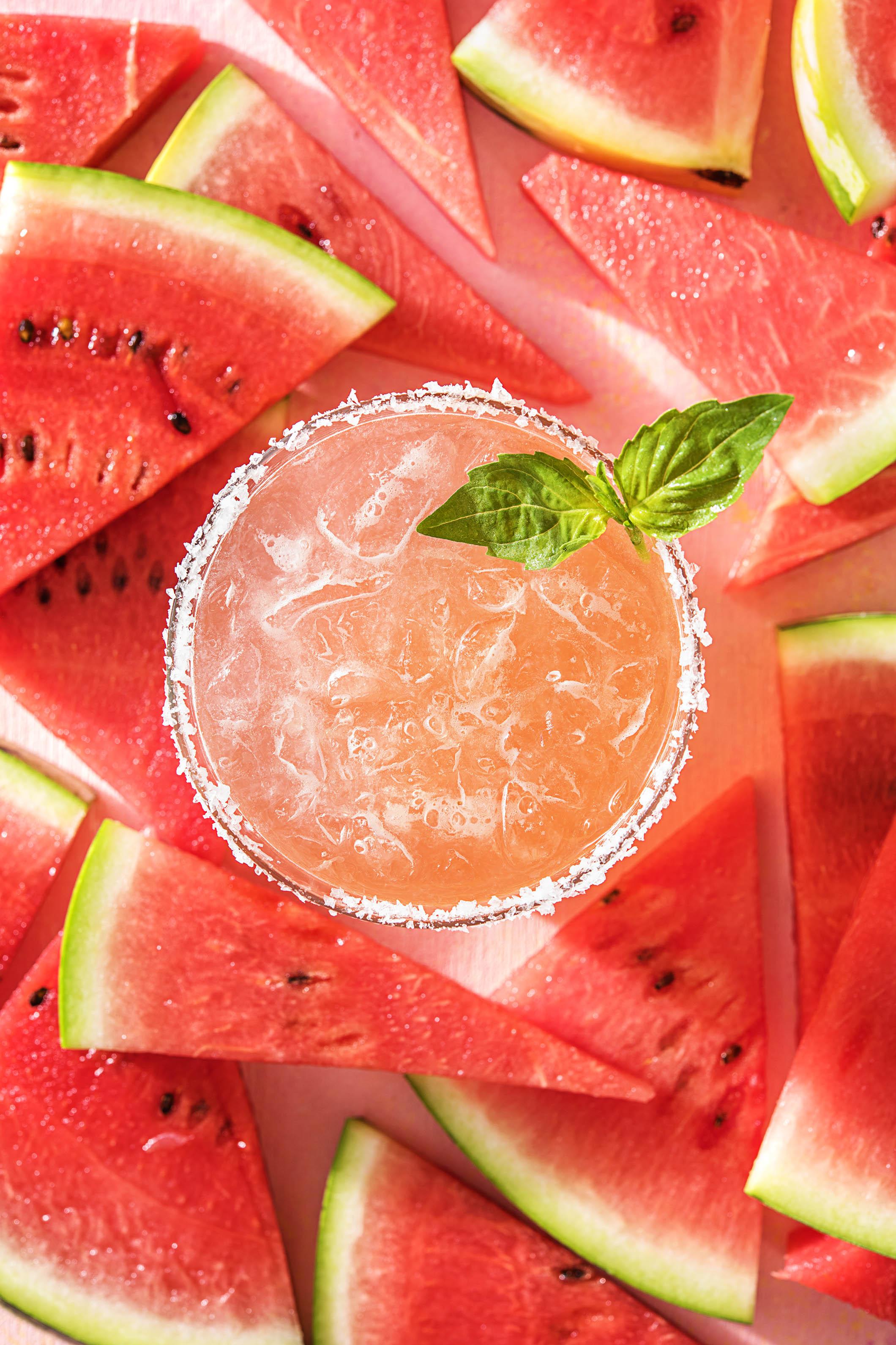 watermelon recipes-HelloFresh-margarita