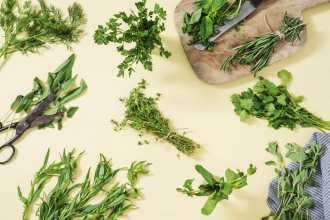 Guide to Storing Fresh Herbs (+what foods they pair best with)