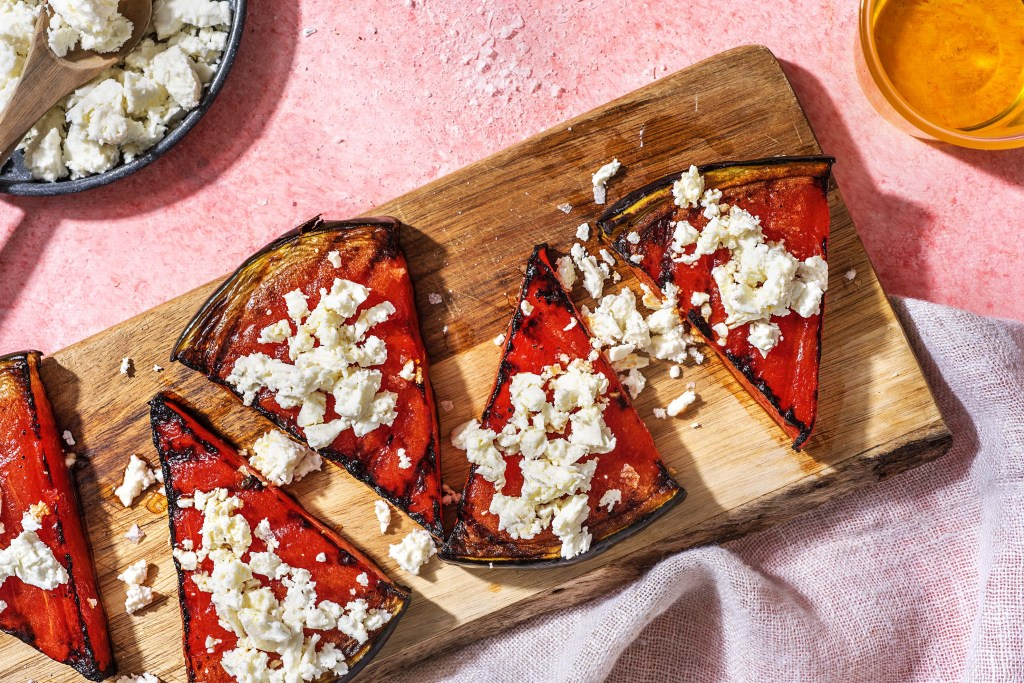 watermelon recipes-HelloFresh-grilled