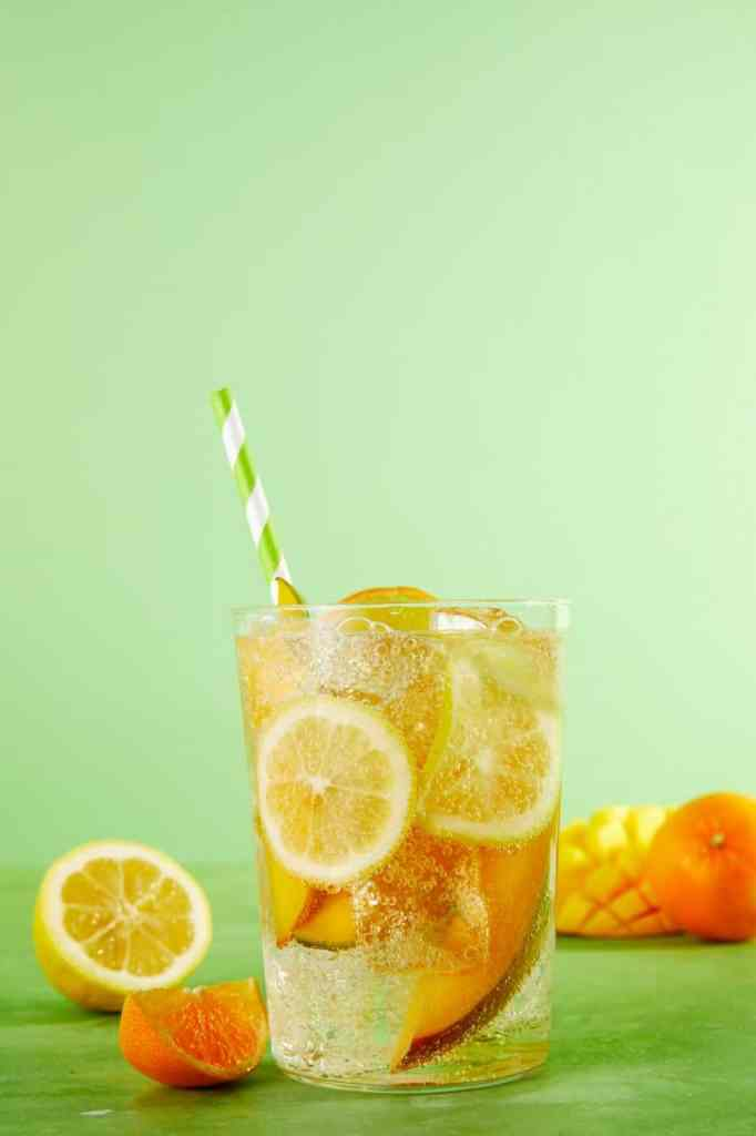 White Wine Spritzer-HelloFresh-citrus-orange-lemon-mango