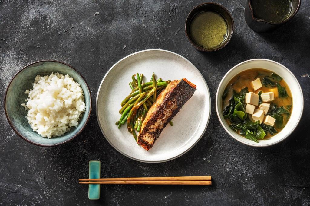 breakfast around the world-HelloFresh-Japan-rice-miso-soup