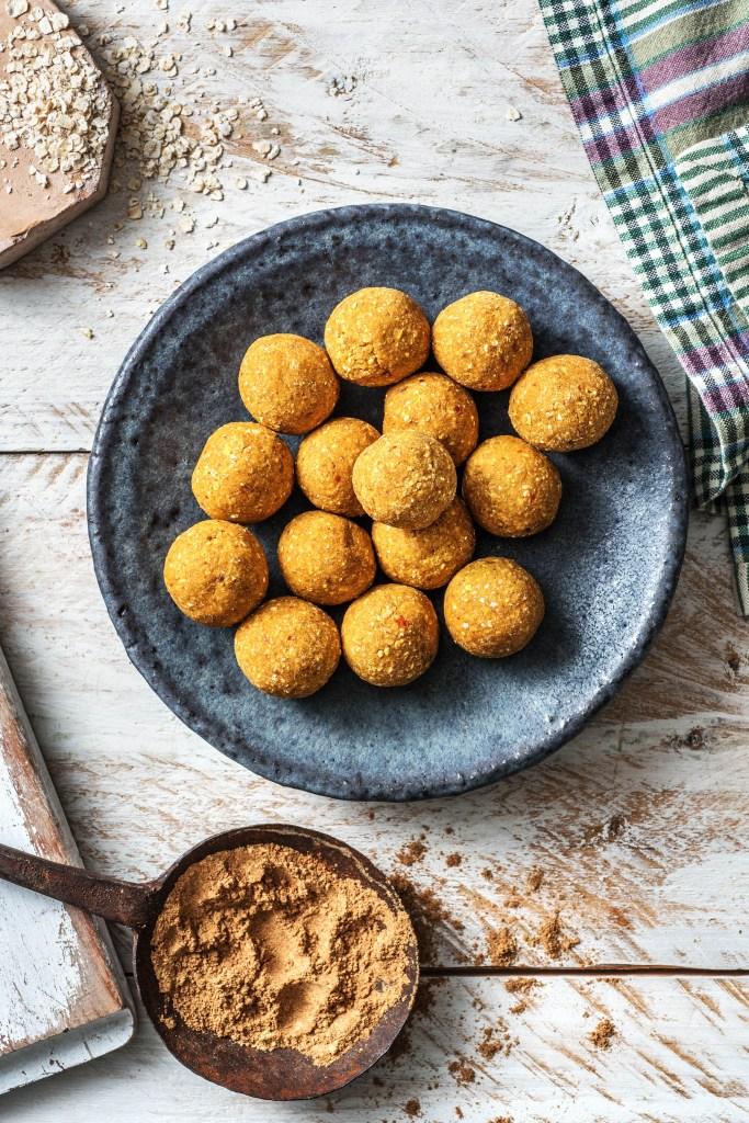 pumpkin spice recipe-HelloFresh-truffle-bites