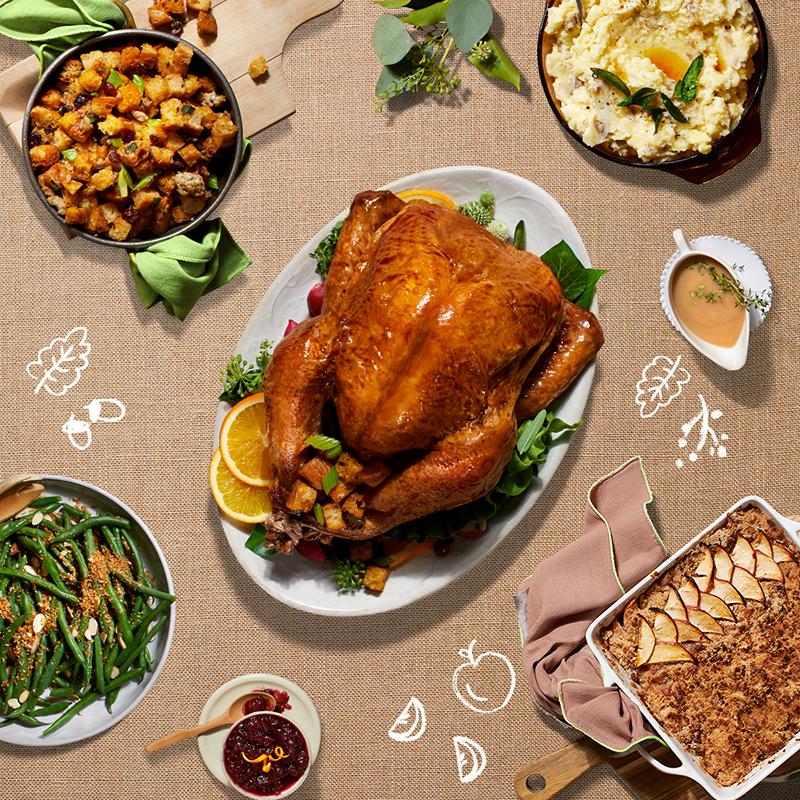 how to make a turkey-HelloFresh-Thanksgiving Box