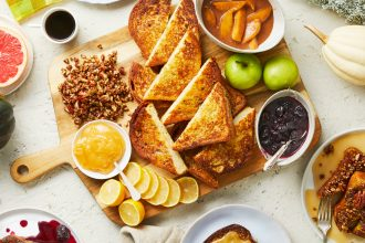 How to Make A Build-Your-Own Homemade French Toast Bar