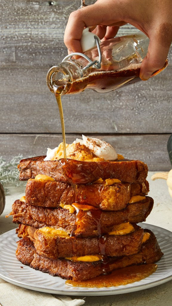 homemade French Toast-HelloFresh-recipes-pumpkin pie