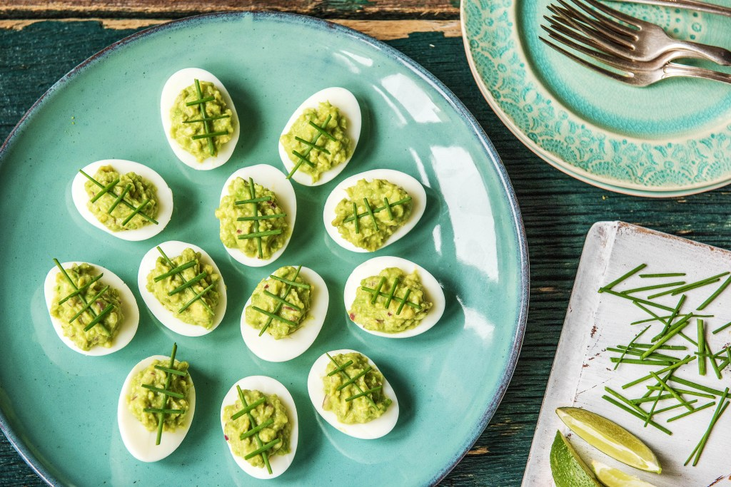 super bowl recipes-guacamole-deviled eggs