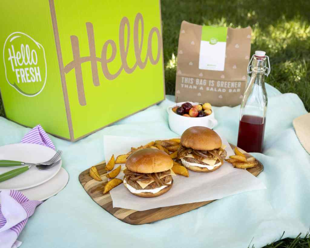 Use Hellofresh at a picnic