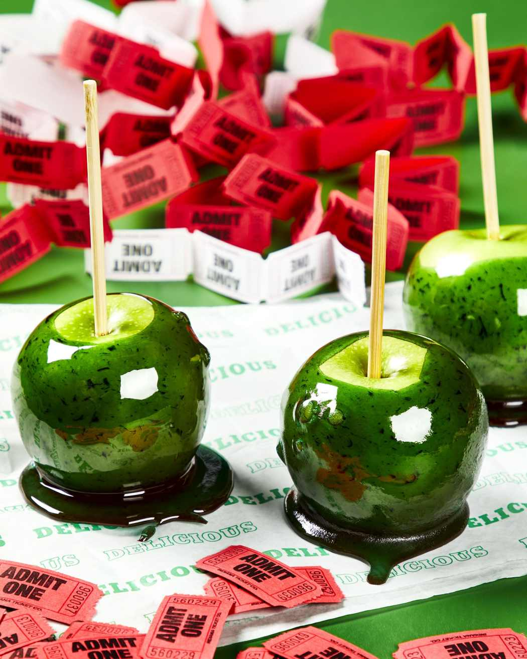 Candy Apple Carnival Foods