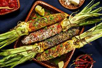 Elote Corn 4 Ways
