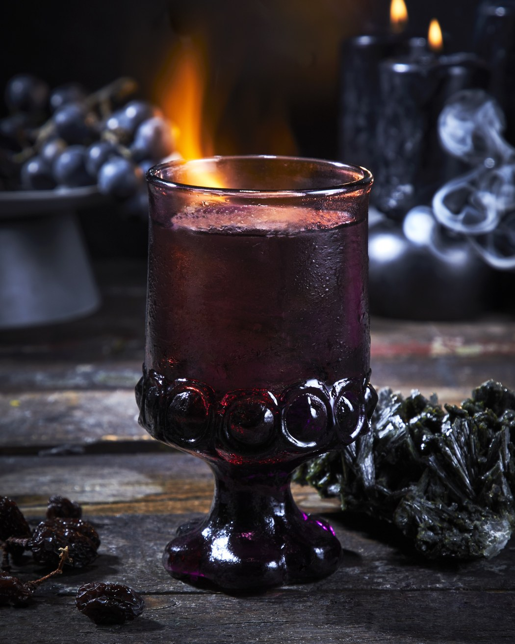 Halloween Cocktail Goblet of Fire