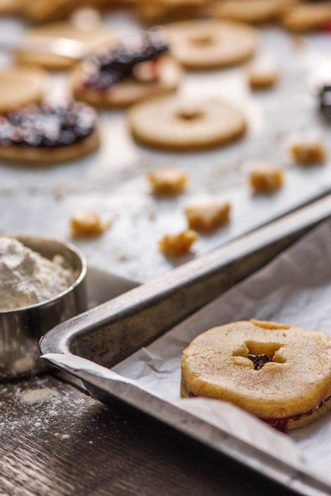 Weihnachtsplätzchen aus Mürbeteig: Zubereitung
