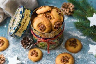 HelloFresh Weihnachtsbäckerei: Orangen-Walnuss-Cookies