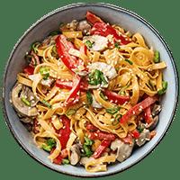 Asiatische Gemüse-Nudeln