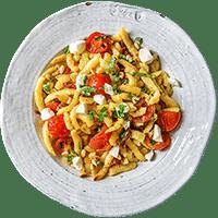 Gebratene Käsespätzle All'italiana