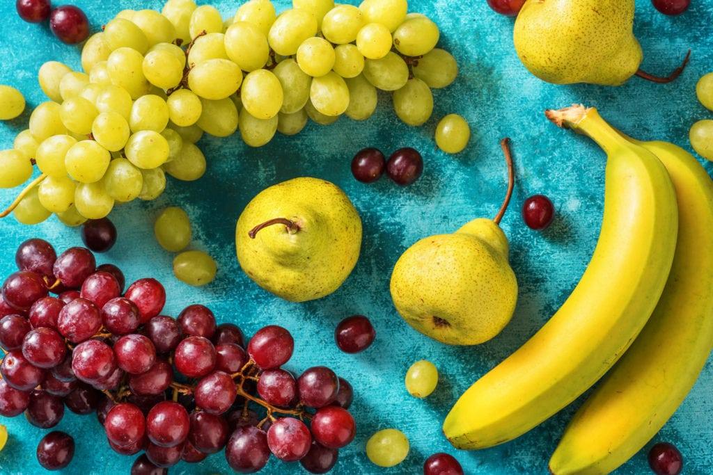 Frische Früchte süßen Desserts und Kuchen super gut