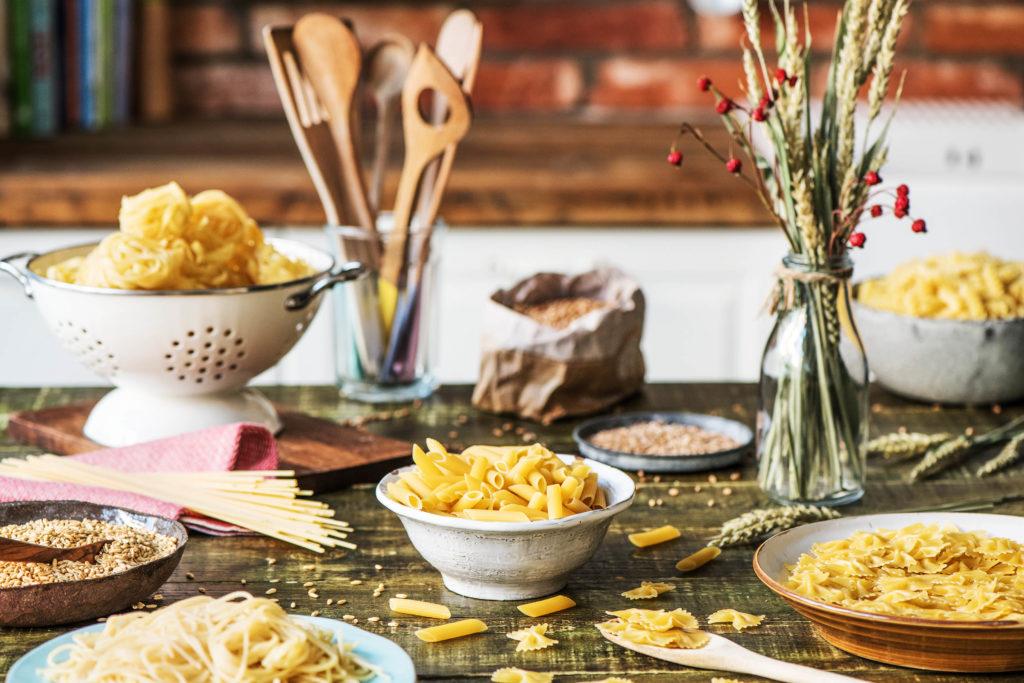 Haltbarkeit Getreide, Pasta und Reis