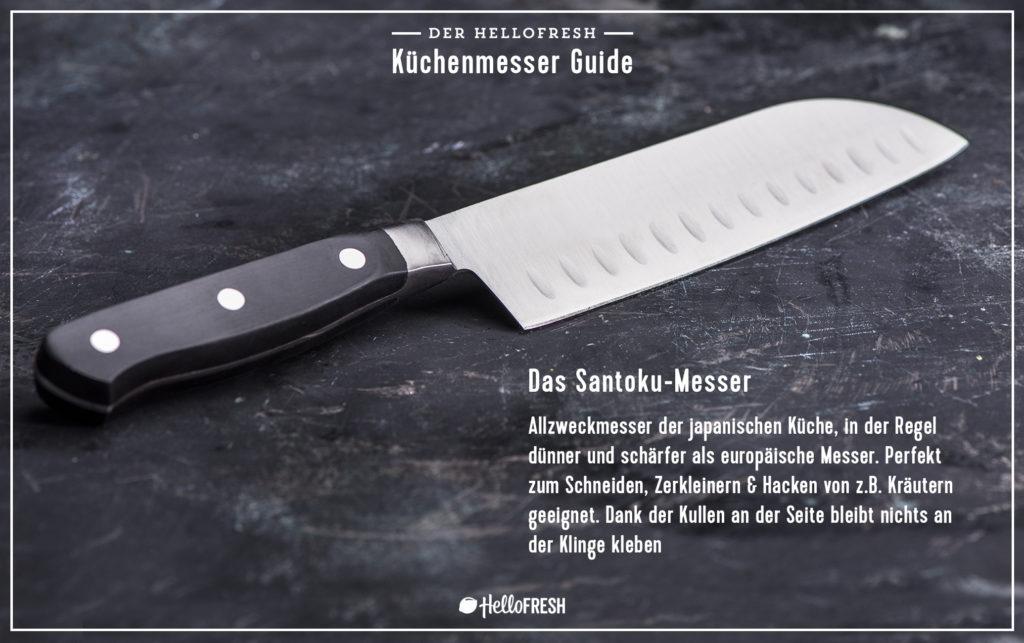 Das Santoku Messer