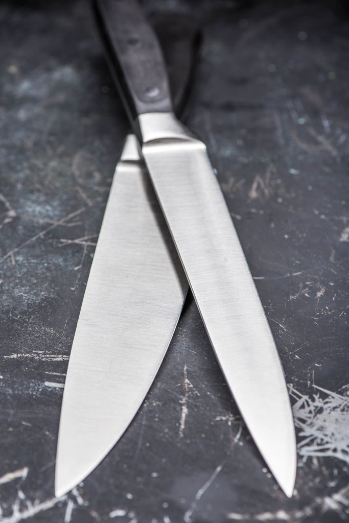 Gekreuzte Messer