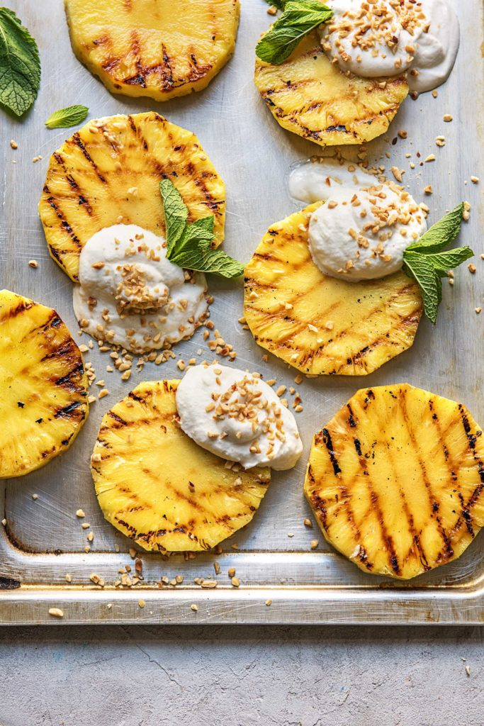Grillen mal anders: Gegrillte Ananas