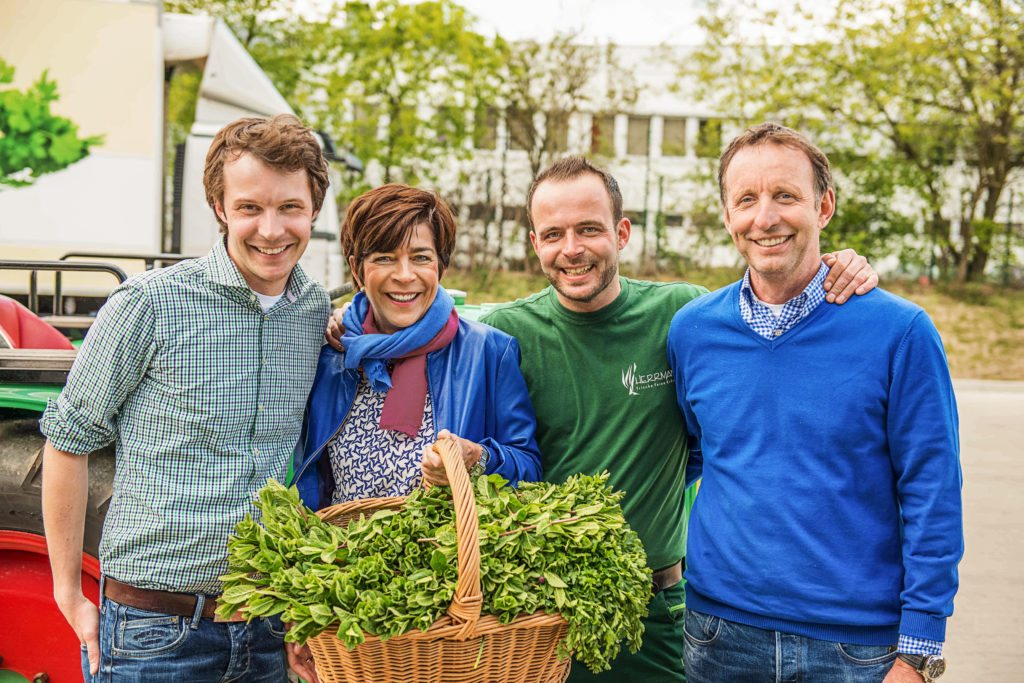 Frische Kräuter aus Neuss – Familie Herrmann