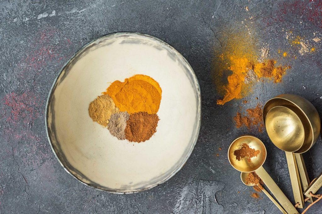 Goldene Milch: Zutaten