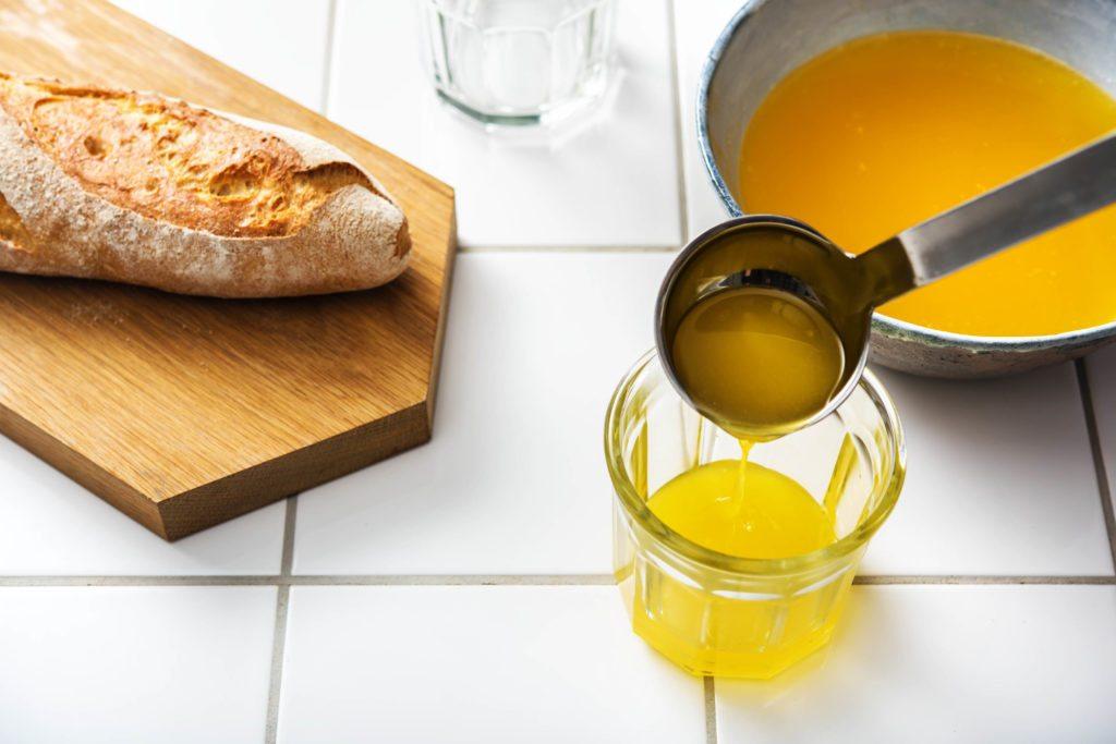 Ghee - Butterschmalz abfüllen