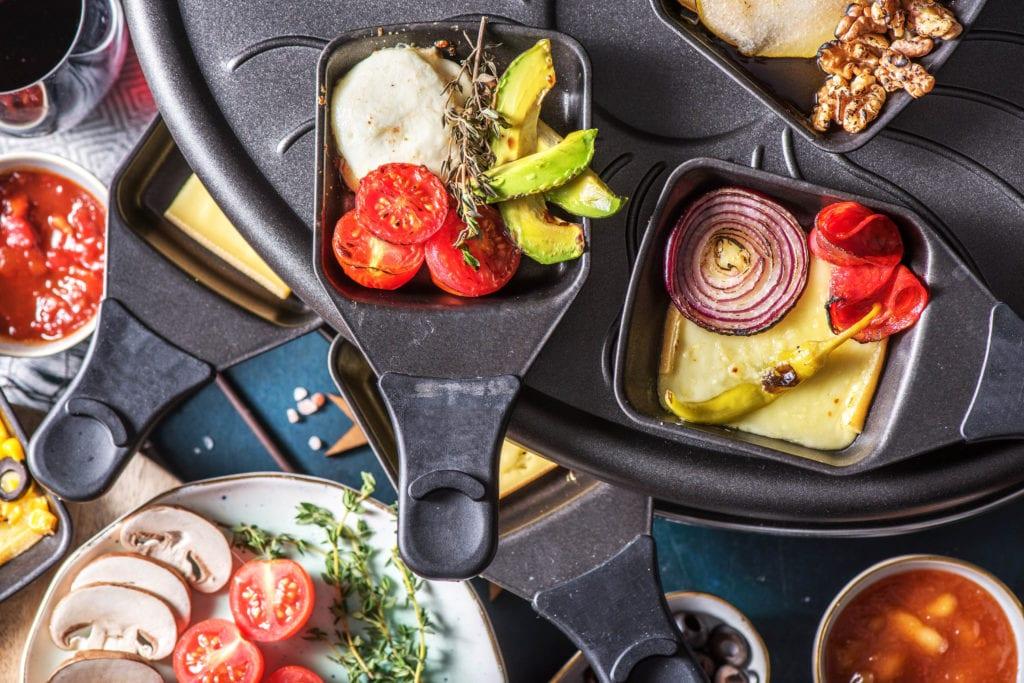 Moderne Raclette Variationen