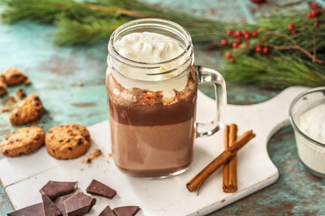 Kruidige chocolademelk