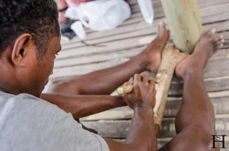 20120718-134247-Feuer, Fidschi, Mana Island, Mana Lagoon Backpackers, Weltreise-_DSC9986