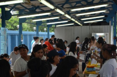 Domestic helpers at the Migrants' Health Matters