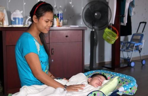 Helper baby care is