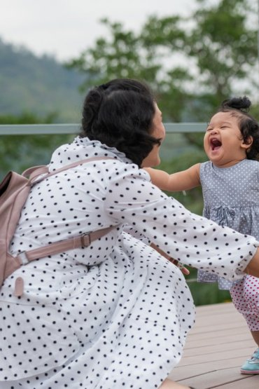 A domestic helper should not replace the mother's role