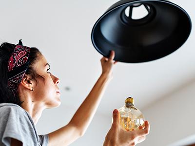 trocar lâmpada