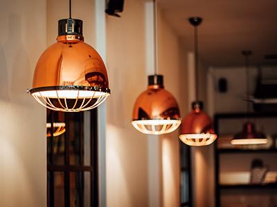 Iluminação Apartamento alugado